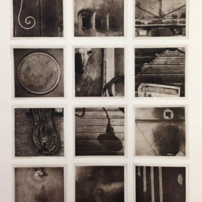 Lexicon: Anderson: sepia tone: 12 photogravure etching plates (polymer)