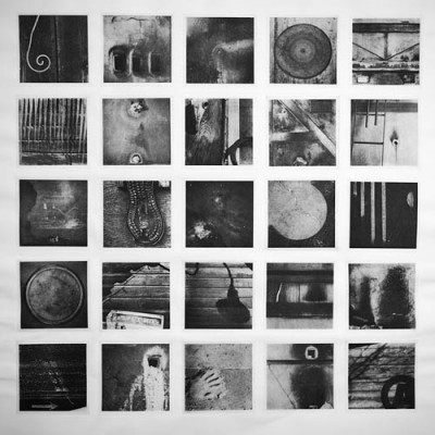 lexicon: anderson: photogravure etching (25 polymer plates) chine colle onto BFK Rives paper 30 x 32 in