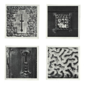 lexicon: london: 4 photogravure etching plates (polymer)