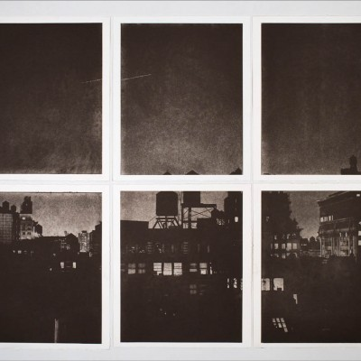 New York: photogravure etching (6 polymer plates)