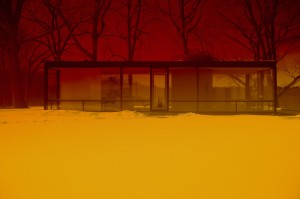Image: James Welling, 0469, 2009. Courtesy the artist and David Zwirner, New York/London. Philip Johnson Glass House is a site of the National Trust for Historic Preservation