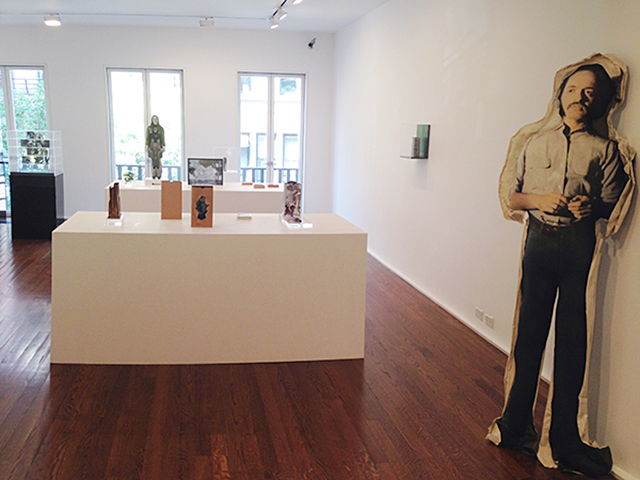Installation view, 'The Photographic Object, 1970′ at Hauser & Wirth (all photos by the author for Hyperallergic)