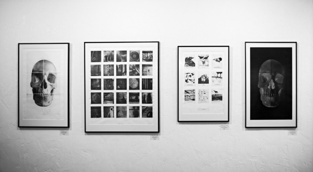 Works on Paper exhibition view