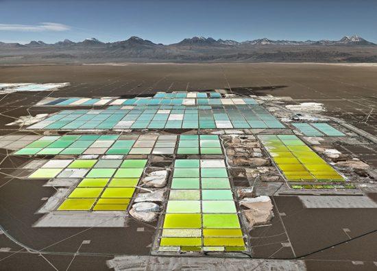 lithium mines #1, salt flats, atacama desert, chile 2017 image by edward burtynsky | courtesy metivier gallery, toronto