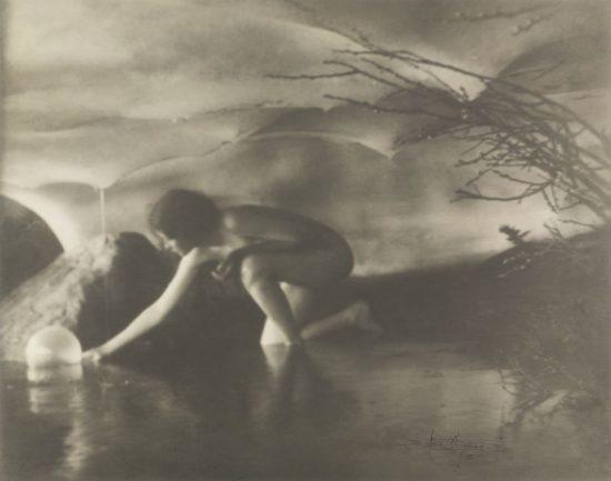 Anne Brigman, The Bubble, 1906 Wilson Centre for Photography