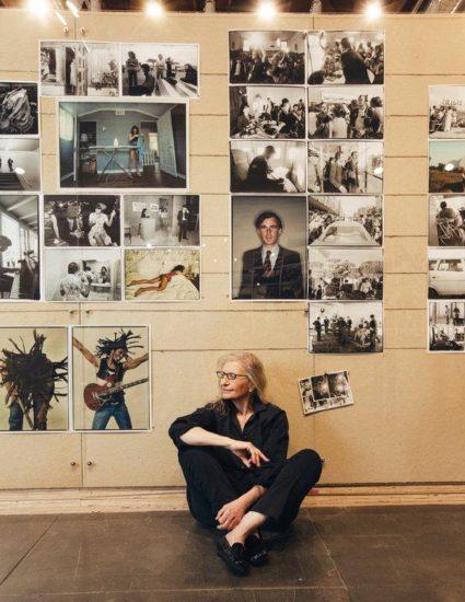Annie Leibovitz at the Hauser & Wirth gallery in Los Angeles.CreditCreditAnnie Leibovitz; Rozette Rago for The New York Times
