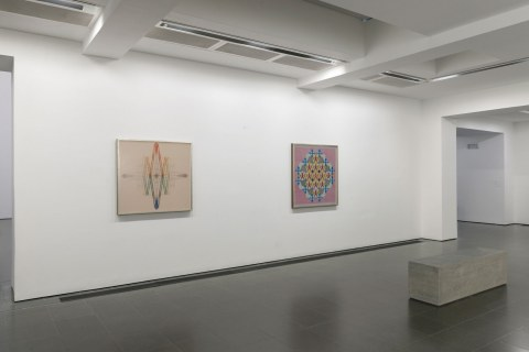 Emma Kunz: Visionary Drawings, An exhibition conceived with artist Christodoulos Panayiotou, (Installation view, 23 March – 19 May 2019, Serpentine Galleries), © 2019 readsreads.info