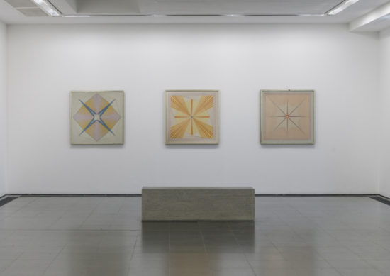 Emma Kunz: Visionary Drawings at the Serpentine Gallery (2019) (Installation view) (Image courtesy Serpentine Gallery)