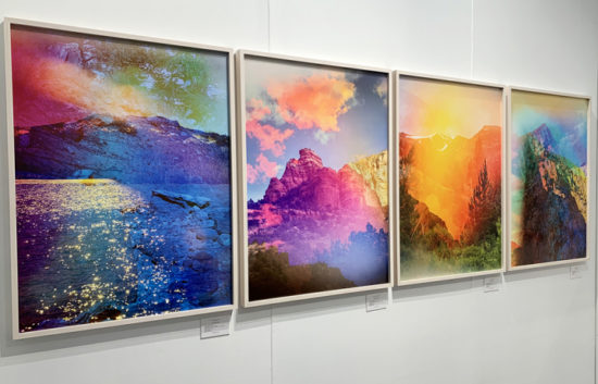 "Terri Loewenthal, ""Psychscape 06"" (Gold Lake, CA) (2017), on display at Jackson Fine Art"