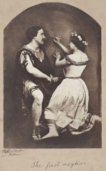 "Oscar Gustave Rejlander, ""The First Negative"" (1857), albumen silver print (Musée d'Orsay, Paris Photo © RMN-Grand Palais / Art Resource, NY / Patrice Schmidt)"