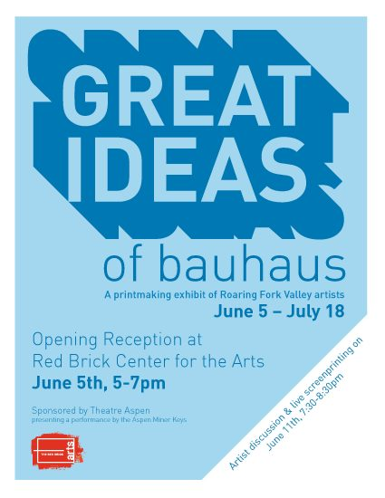 Great Ideas of Bauhaus printmaking exhibition