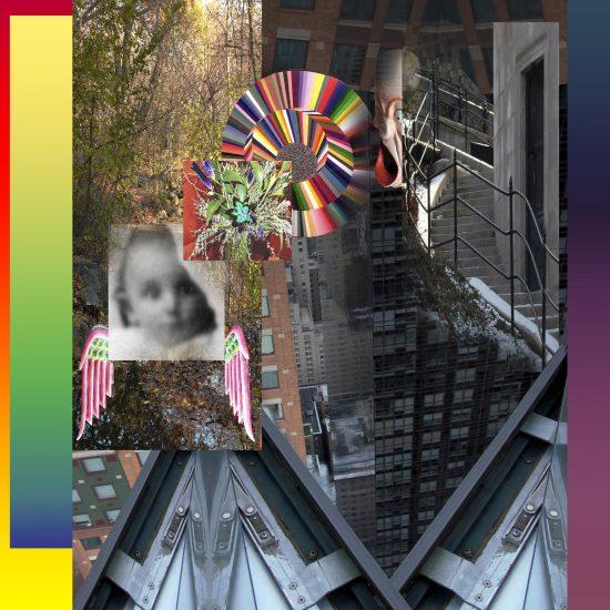 "Lucas Samaras, Untitled, 2019, pure pigment on paper print, 13"" × 13"" (33 cm × 33 cm), image 14"" × 14"" (35.6 cm × 35.6 cm), paper © Lucas Samaras"