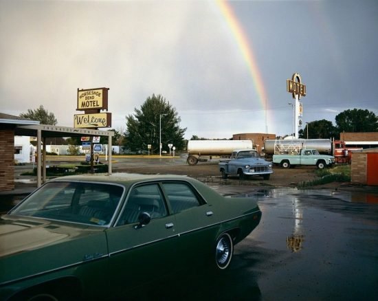 Stephen Shore Horseshoe Bend Motel, Lovell, Wyoming, July 16, 1973, 1973 303 Gallery