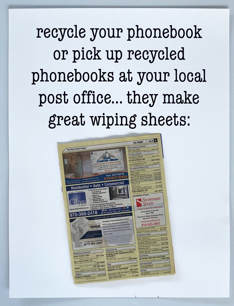 recycle phonebooks