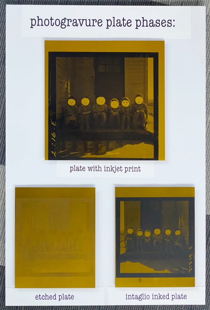 photogravure plate phases