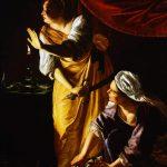 "Artemisia Gentileschi, ""Judith and her Maidservant"" (ca. 1623–1625) (courtesy Wikimedia Commons)"